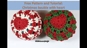 easy tutorial and free pattern how to do a hearted christmas