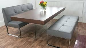 black dining table bench small table and bench set lesdonheures com