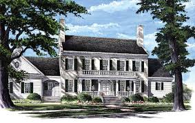 plan 32463wp colonial home plan with 2 master suites colonial