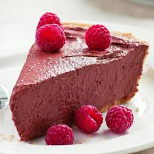 Chocolate Raspberry Recipes Chocolate Raspberry Tofu Pie Recipe Eatingwell
