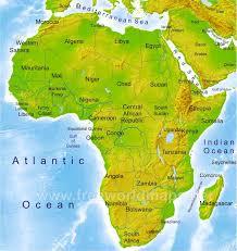 africa map physical africa physical map freeworldmaps net