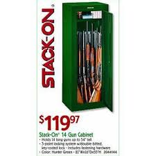 black friday deals on gun cabinets stack on 14 gun cabinet 119 97 valid on black friday 2013 in