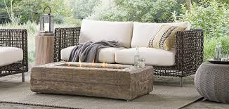 custom sofa ottomans and outdoor chaises home furniture design by outdoor patio furniture deck furniture arhaus
