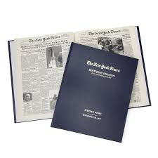 Bloomingdales New York Map by New York Times Custom Birthday Book Historical Newspapers