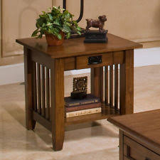 mission style side table mission side table ebay