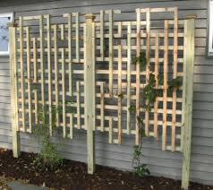 how to build a garden trellis panels using lattice best house design