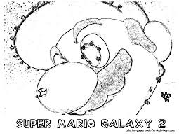 transmissionpress nintendo super mario galaxy 2 coloring pages