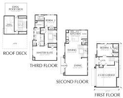 modern townhouse floor plan for sale
