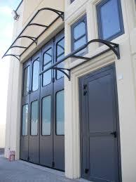 tettoie per porte esterne pensiline e tettoie su misura antipioggia e ombreggianti