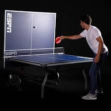 Ping Pong Table Cheap Espn 4 Piece Table Tennis Table Walmart Com