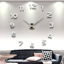 articles with large mirrored decorative wall clocks tag large
