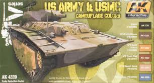 ak interactive ak 4220 us army and usmc camouflage colors set