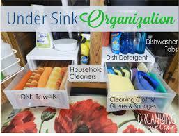 organize kitchen how to organize under your sink organize your kitchen frugally day