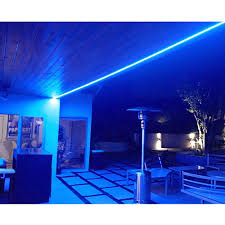 waterproof 150ft blue led indoor outdoor rope lights le