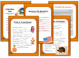 thanksgiving mad lib hurry traurigs in