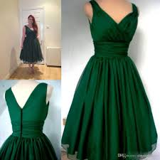 emerald green 1950s cocktail dress vintage tea length plus size