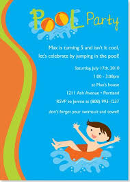 birthday invites birthday pool party invitations free download