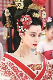 chinese royal consort s costumeake up during tang dynasty from chinese drama the