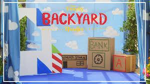 backyard theatre toy story costumes diy disney family disney