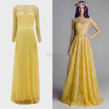 yellow dresses for weddings dresses for wedding maxi wedding dresses with sleeves naf