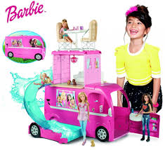 Barbie Glam Bathroom by Barbie Pop Up Camper Vehicle Only 55 99 Shipped Reg 99 99 Ftm