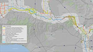 Metro Los Angeles Map by Explore The La River Los Angeles River Revitalization