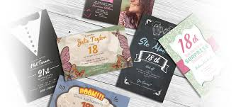 personalised cheap invitations create custom invites