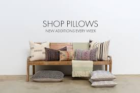 shoppe by interiors vintage one a kind pillows rugs u0026 more