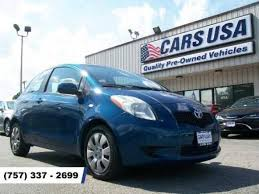 toyota cars usa used toyota yaris for sale in virginia beach va edmunds