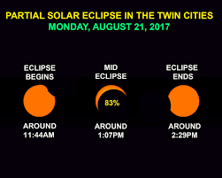 how to view the solar eclipse here in minnesota u2013 twin cities