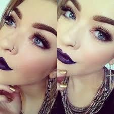 dark purple lipstick makeup tutorial makeup vidalondon