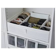 Ikea Pull Out Drawers Skubb Box With Compartments White Ikea