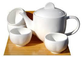 teapot set white ceramic 0 7l teapot set 4 plum blossom cups
