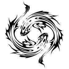 pisces tribal zodiac sign by sbink tat pinterest pisces
