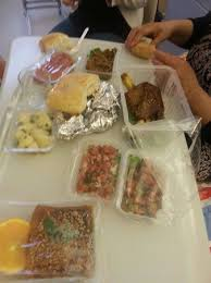 cuisine à emporter notre plat à emporter épaule d agneau avec salade marocaine et
