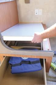 selected furniture booths guide remove the dinette booth from your rv mountainmodernlifecom