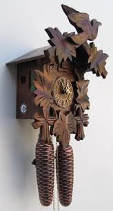 How To Wind A Cuckoo Clock Sternreiter 8 Day 1 Wind Bird And Leaf Walnut Finish 8200