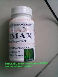 vimax berhologram 3d izon yang asli kodenya tidak digosok vimax