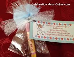 bridal shower favors ideas bridal shower favor idea