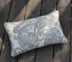 Pillow Decorative For Sofa by Aliexpress Com Buy Vezo Home Printed Grey Black Paisley Cotton
