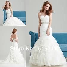 sparkly belts for wedding dresses rhinestone belt backless organza ruffles mermaid