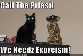 Exorcism Meme - satan kitteh by cuteasfuck meme center