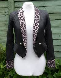 Seeking Jacket Upcycled Desperately Seeking Susan Jacket Uk 10 Us 6