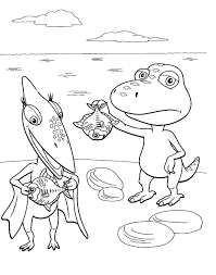 train color pages dinosaur train coloring pages