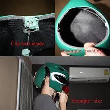 White Ranger Halloween Costume Amazon 1 1 Halloween Costume Cosplay Power Ranger Helmet Mask