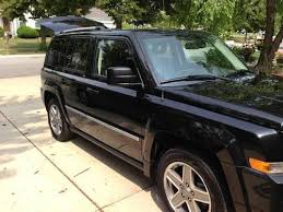 2008 jeep patriot limited mpg find used 2008 black jeep patriot limited 4x4 great gas