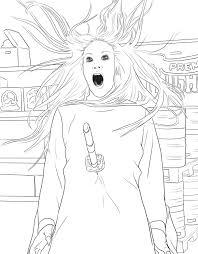 official supernatural coloring book monsters demons
