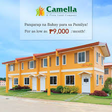 Camella Homes Drina Floor Plan by Reana Model Camella Provence