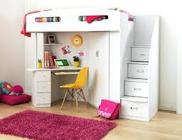 bunk bed with desk dresser and trundle loft bed with desk underneath liftechexpo info