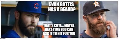 Houston Astros Memes - jake arrieta on evan gattis imgflip